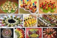 Показаны картинки по запросу Канапе на Шпажках Рецепты с Фото на Праздничный Стол.