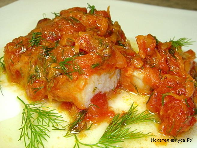 Рыба в томате рецепт приготовления с фото