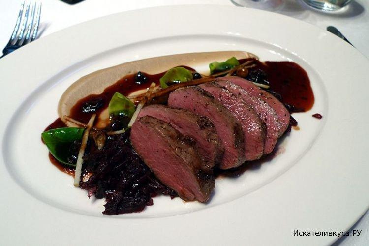 Соус из черной смородины к мясу рецепт с фото