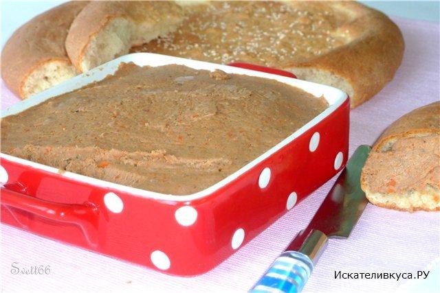 Мясной паштет рецепты с фото