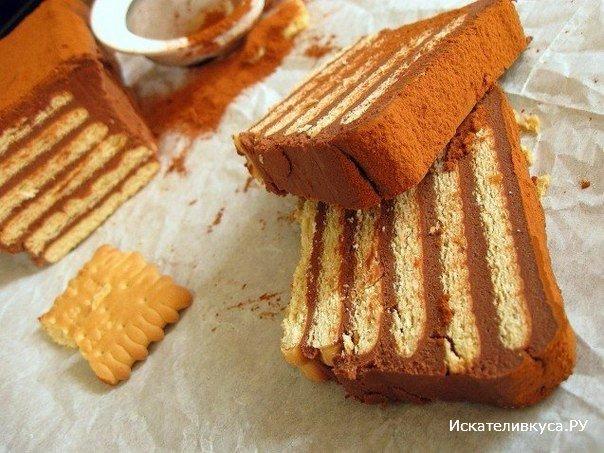 Как с печенья сделать торт